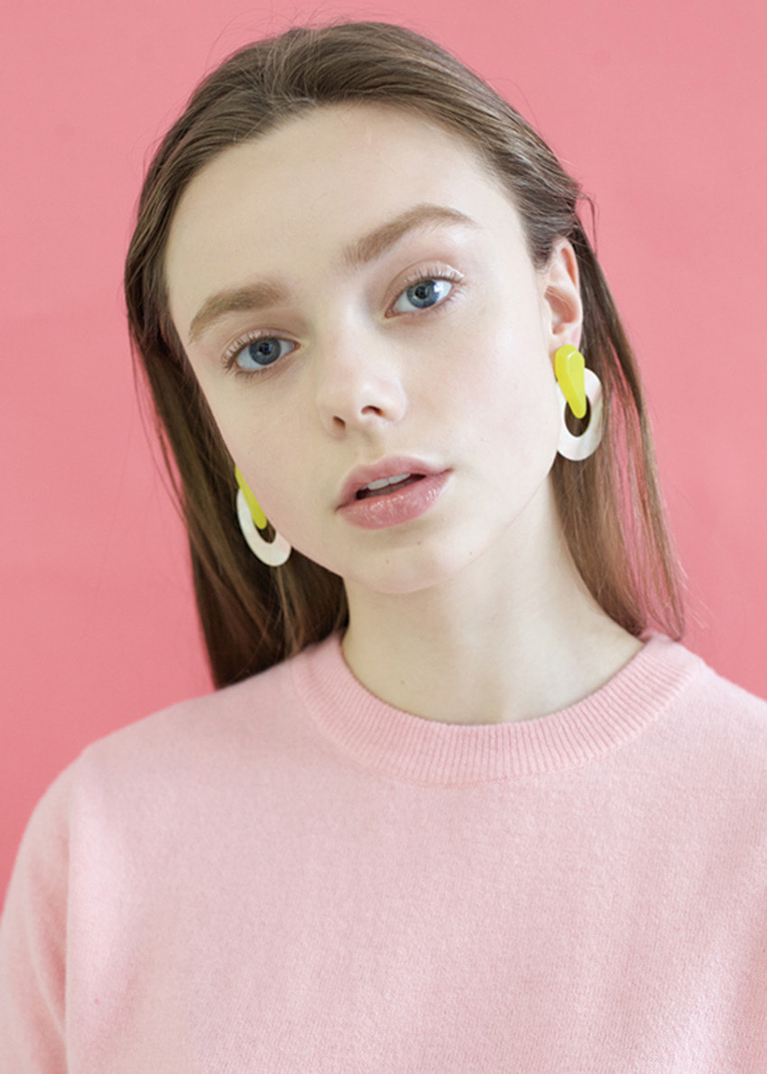 vanilla earring lemon