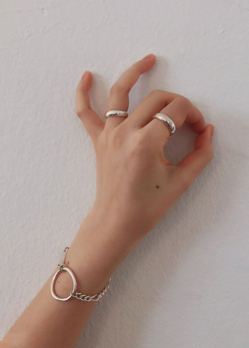*PICK* Open ring silver 925