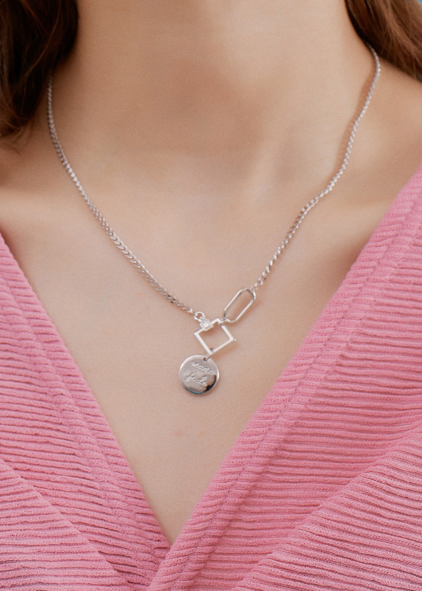 teen necklace silver