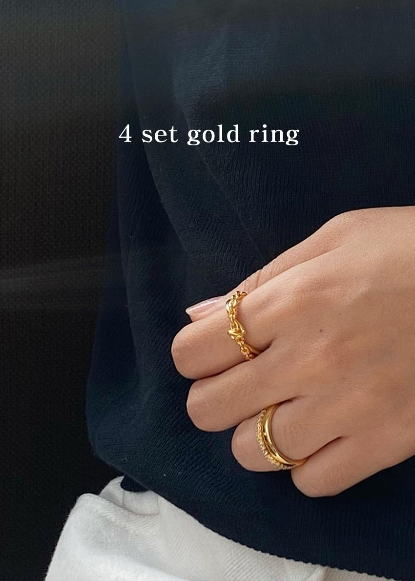 20 judi 2set gold ring